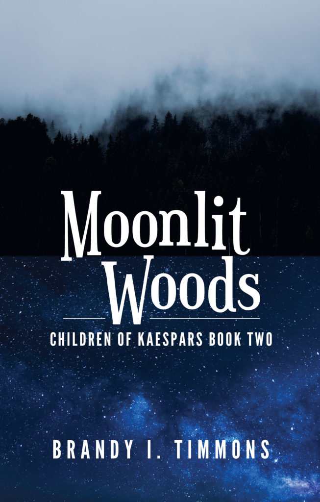Moonlit Woods by Brandy I Timmons